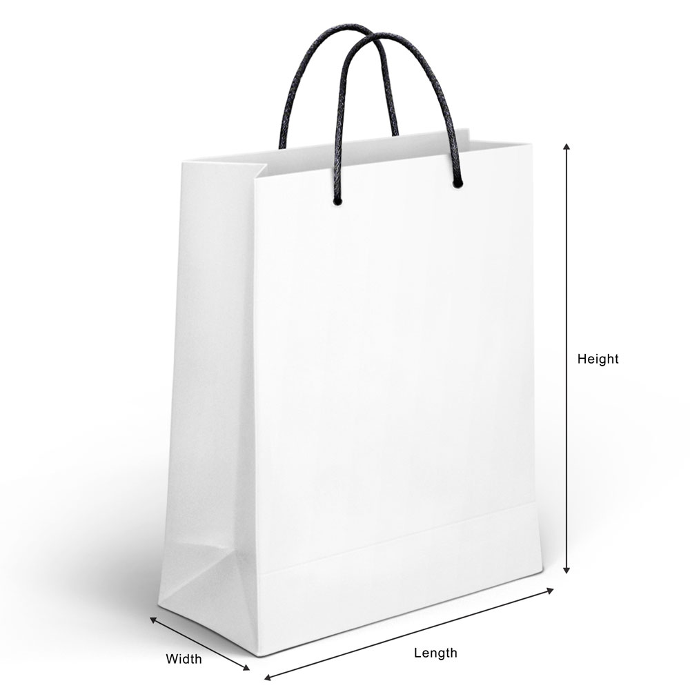 Matte Gloss Laminated Custom Retail Paper Shopping Bags 02
