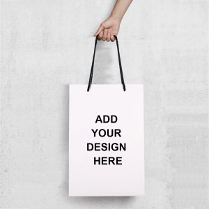 Matte Gloss Laminated Custom Retail Paper Shopping Bags 01