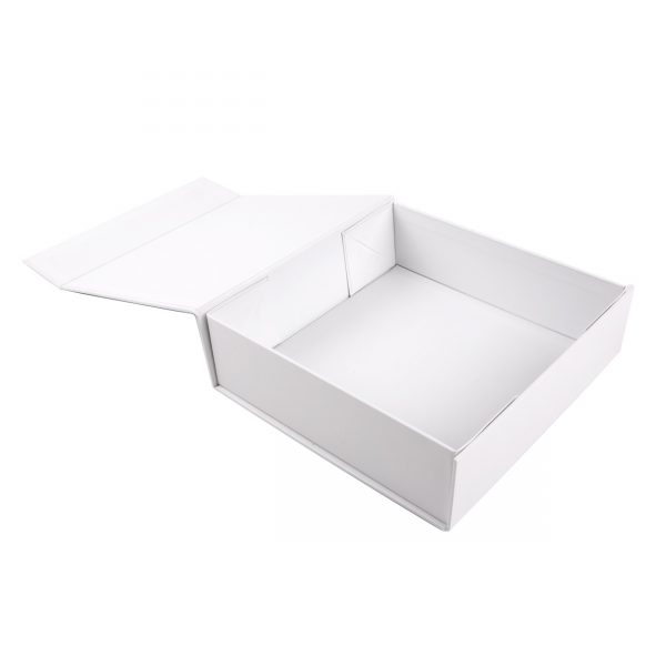 Custom Collapsible Gift Boxes White 08