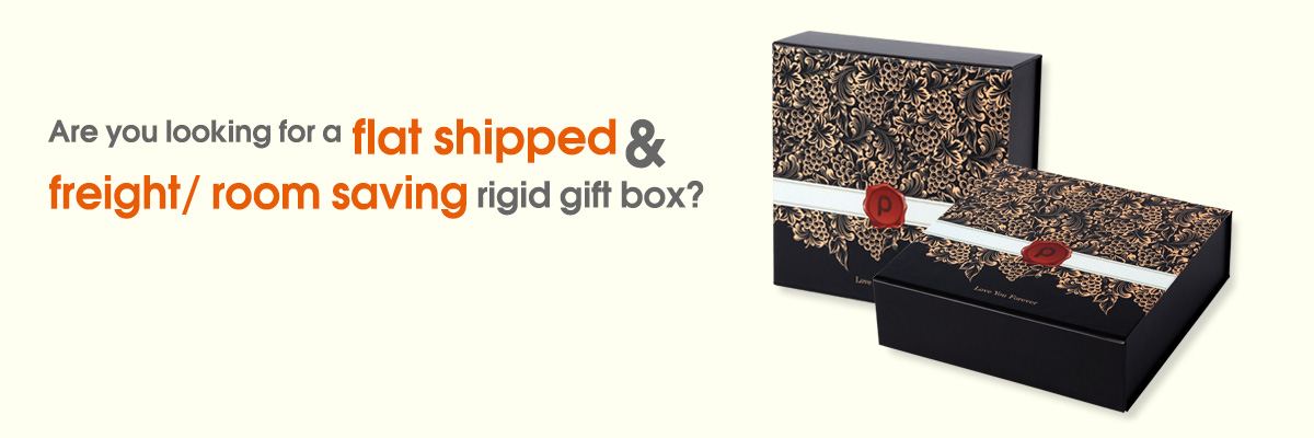 Collapsible Gift Boxes custom print box01