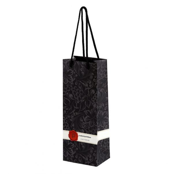 Wine Bottle Paper Gif Bags 02