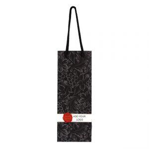 Wine Bottle Paper Gif Bags Logo 01