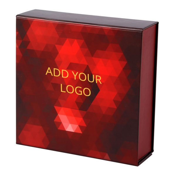 Custom Collapsible Gift Boxes Crystal Logo 02