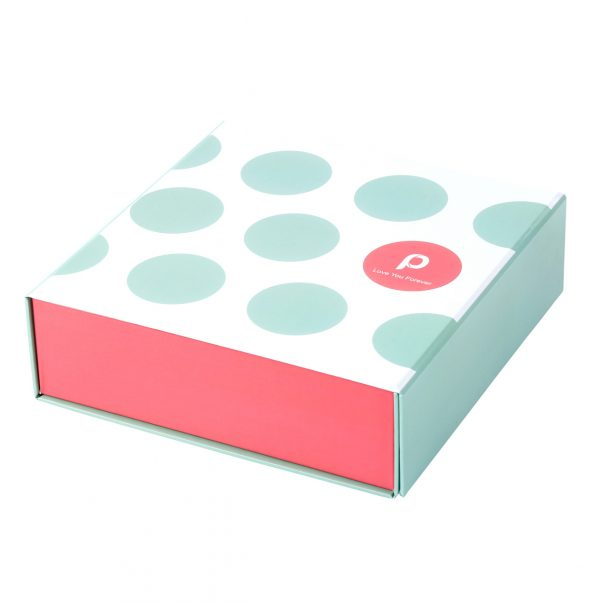 Custom Collapsible Gift Boxes Dots 01