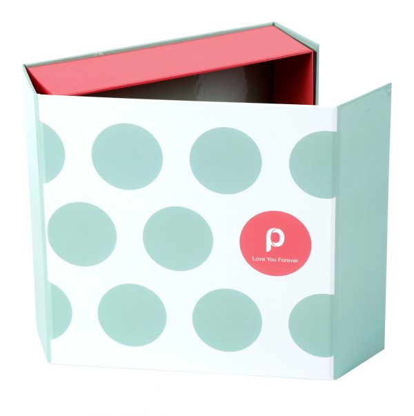 Custom Collapsible Gift Boxes Dots 03