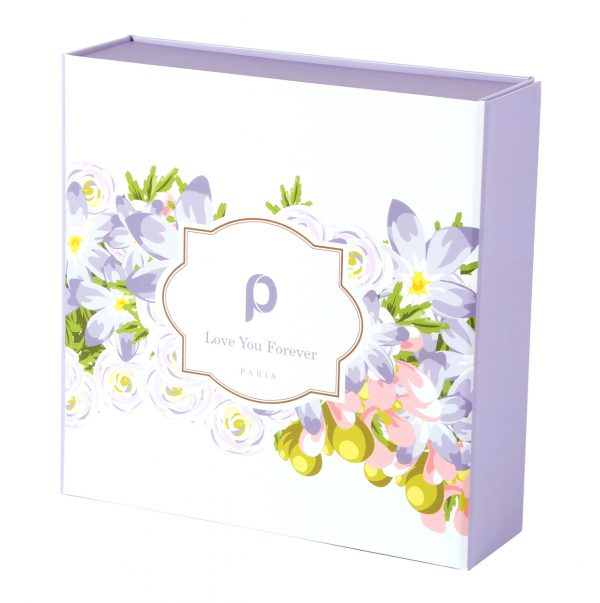Custom Collapsible Gift Boxes Floral 02