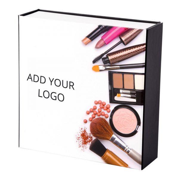 Custom Collapsible Gift Boxes Make Up Logo 02