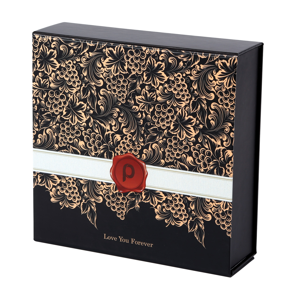 """True Love Collapsible Gift Boxes 8"""" x 8"""" x 2.5″ - Custom ..."""