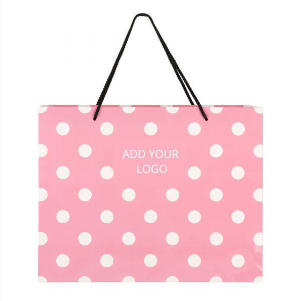 Fashion Polkadots Bag Logo 01