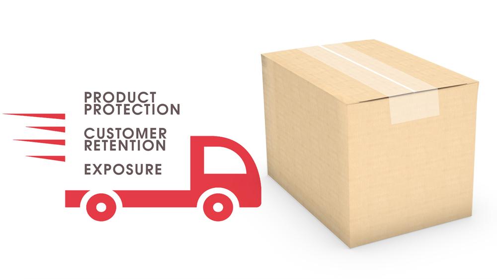 custom print box product protection box
